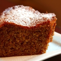 Orange Honey Walnut Cake