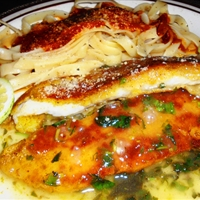 Orange Roughy with Lemon Sauce
