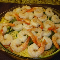 Orzo and Shrimp with Fresh Basil