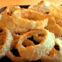 oven baked onion rings