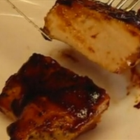 Oven Barbecued Chicken Breasts
