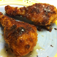 Oven Fried Chicken (uses instant mashed potatoes)