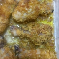 Oven-Fried Corn Flake Chicken