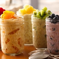 overnight fruit oatmeal