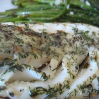 Pan Fried Halibut