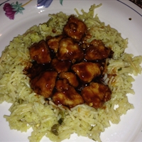 Panko Bourbon Chicken