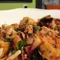 Panzanella and Sausage Salad