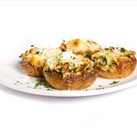 Parmesan and Herb-Stuffed Mushrooms