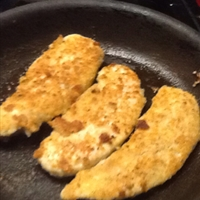 Parmesan-Walnut Turkey Tenderloins or Chicken Breasts