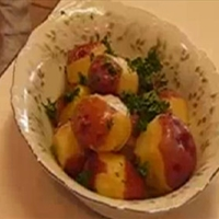 Parsley-buttered New Potatoes Recipe