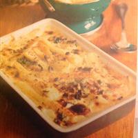 Parsnip, sage and hazelnut dauphinoise