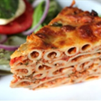 Pasta bolognaise pie recipe