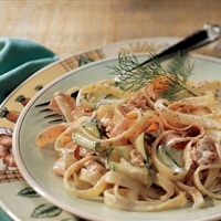 Pasta with Salmon and Dill