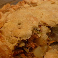 Pasty Meat Pie