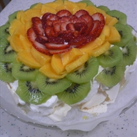 Pavlova (Australian Meringue Dessert)
