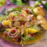 Peachtree Pork Salad