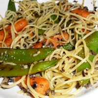 Peanut Asian Noodles