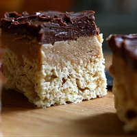 Peanut Butter Fudge Rice Krispies Treats