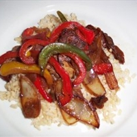 Pepper Beef Stir Fry