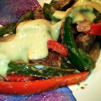Pepper Cube Steak w/ Mustard Gravy