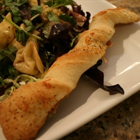 Peppered Fontina Breadsticks