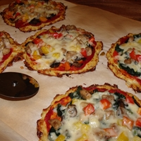 Perfect Cauliflower Pizza Crust