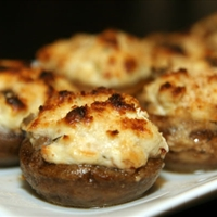 Philly Stuffed Mushrooms