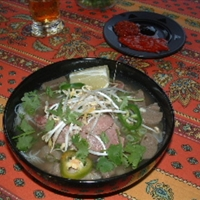 Pho Bo, Vietnamese Beef Noodle Soup