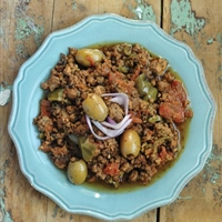 Picadillo; Slow cooker