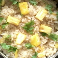 Pineapple Cilantro Rice