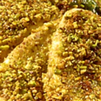 Pistachio Crusted Tilapia