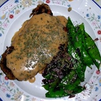 Pork Chops with spicy French BBQ Sauce
