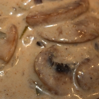 Portabella Mushroom Stroganoff