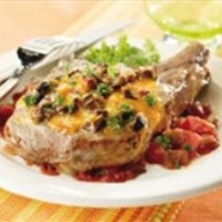 Portobello Pork Chops