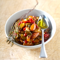 Portuguese Vegetable Medley with Almonds