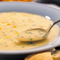 Potato, Cheddar, and Chive Soup