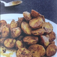 Potatoes: turmeric and cumin roast potatoes