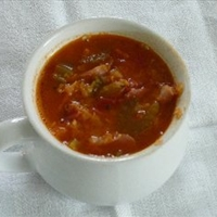 Prize Winning Ham and Lentil Soup