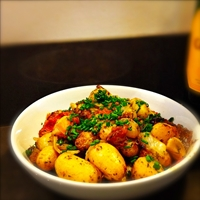 Provençal New Potatoes - (Easy Cook)