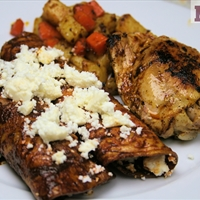 Public Square chicken (Pollo Moreliano de Plaza)