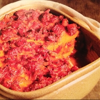 Pumpkin Baked with Tomates and Rosemary