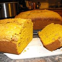 Pumpkin Banana Nut Bread