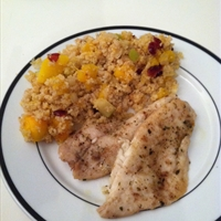 Pumpkin Brown Rice Couscous