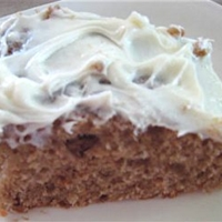 Pumpkin Cake with Cream Cheese Frosting Cake