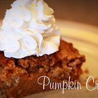 Pumpkin Crunch Treat
