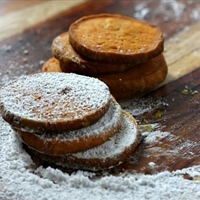 Pumpkin Shortbread Cookies