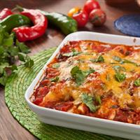 Quick and Delicious Chicken Enchiladas