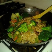 Quick and Easy Pork Lo Mein