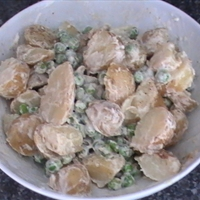 Quick Potato and Pea Salad