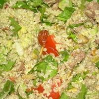 Quinoa en Salpicon
